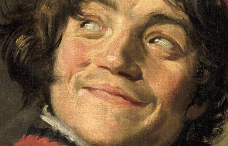 Frans Hals, De luitspeler, ca. 1625 (Louvre) - detail