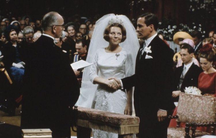 Huwelijksceremonie van Beatrix en Claus (cc - Anefo)