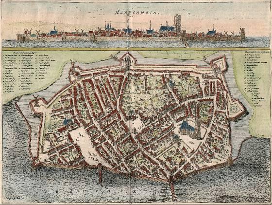 De aangekochte gravure – Foto: Stadsmuseum Harderwijk