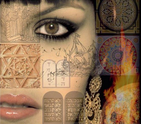Poster voor de musical 'Maria Nuñez, asielzoekster in onze Gouden Eeuw' (detail)