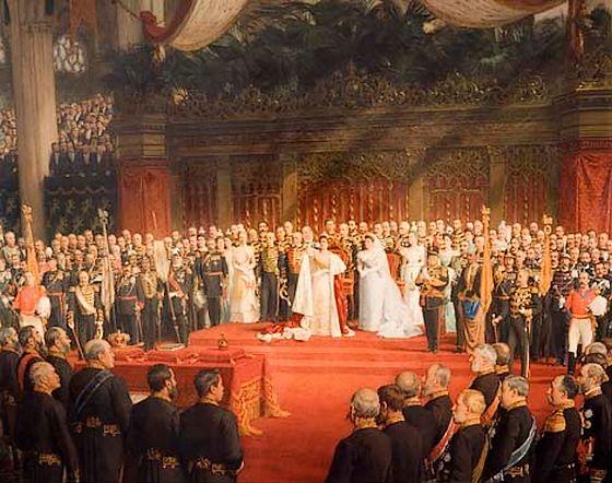 De inhuldiging van koningin Wilhelmina in 1898 – Nicolaas van der Waay