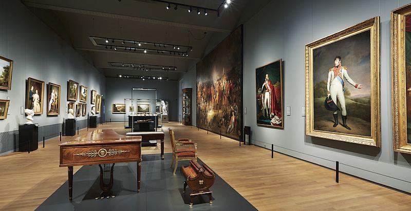 Zaal negentiende eeuw in het Rijksmuseum - Foto: Rijksmuseum