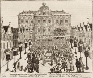 Afkondiging van het Twaalfjarig Bestand in Antwerpen