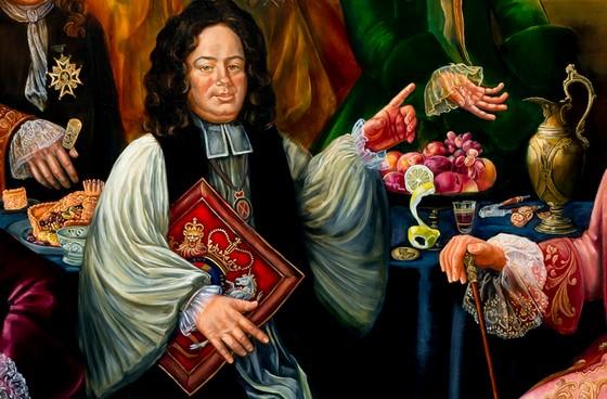 Het schilderij van Semiramis Öner Mühürdaroglu wordt onthuld op 11 april. Een al vrijgegeven detail is veelbelovend.
