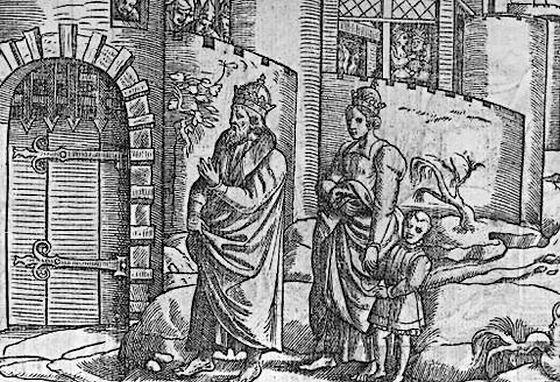 """De """"gang naar Canossa"""" van Hendrik IV"""