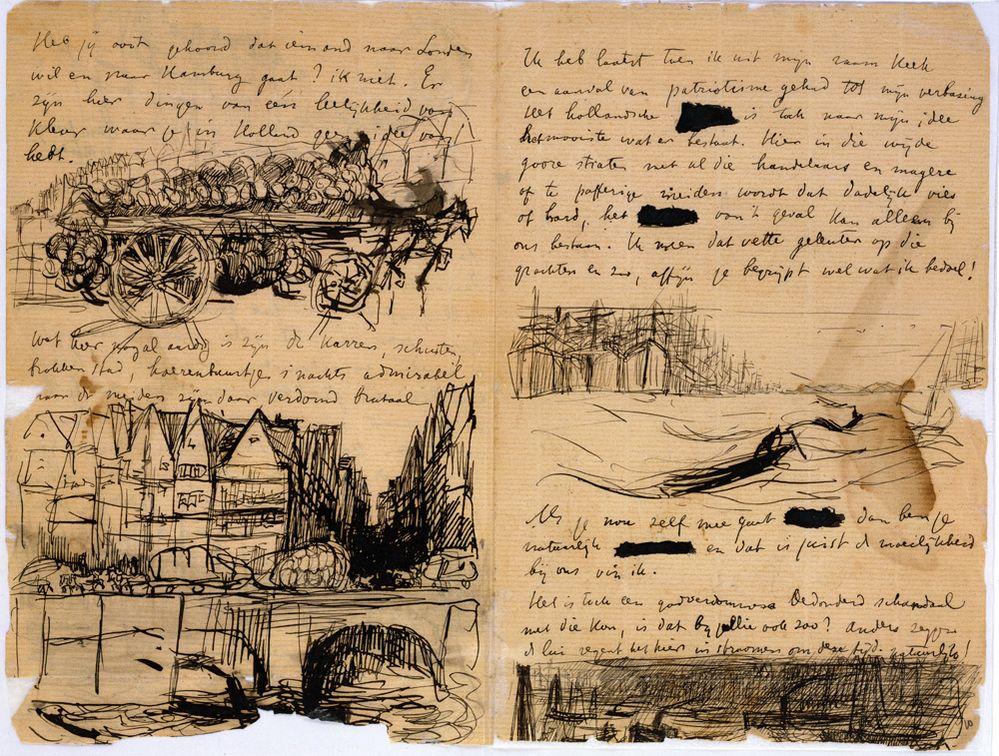 Brief van Isaac Israels (1865-1934) aan Willem Witsen (1860-1923)