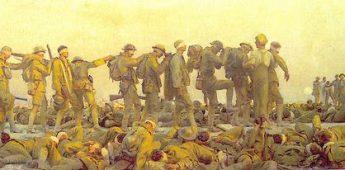 Het Rode Kruis en het protest tegen de eerste gasoorlog