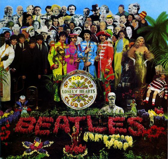 """Sgt. Pepper's Lonely Hearts Club Band"" van The Beatles"