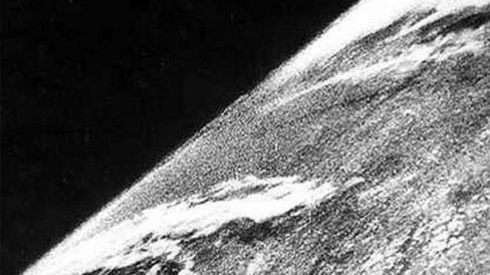 De eerste foto vanuit de ruimte (1946)