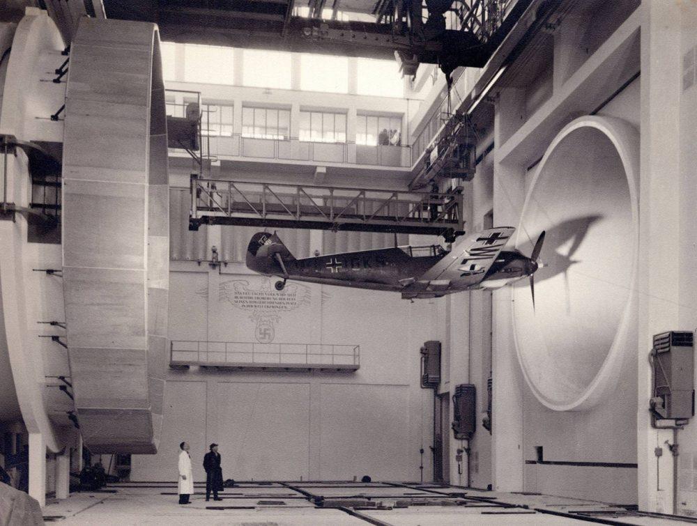 Duitsers testen de Messerschmitt Bf 109