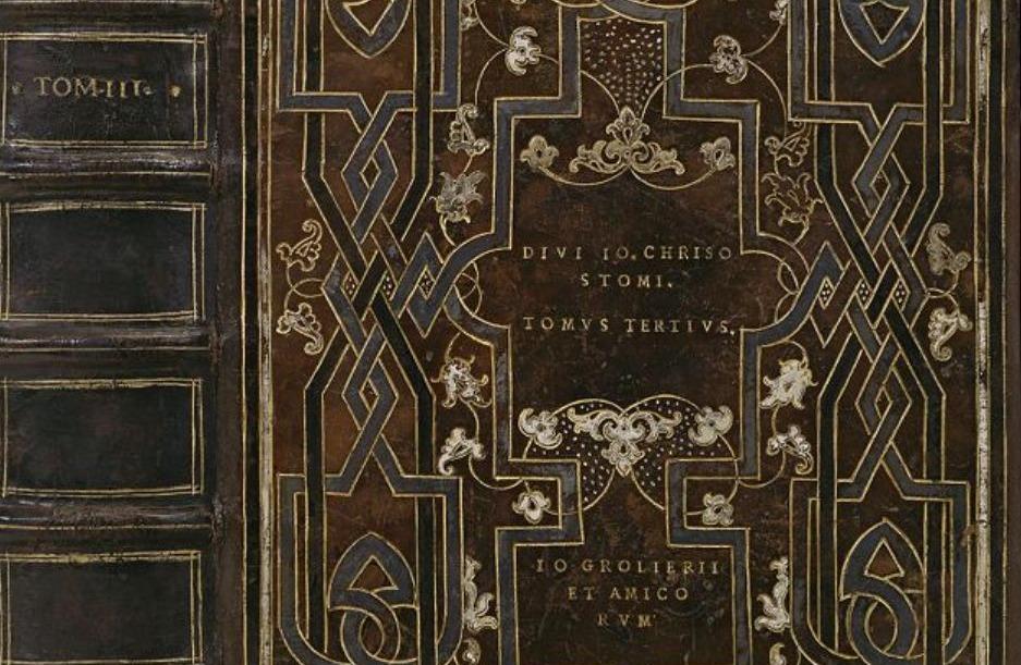 Grolier-boekband uit de zestiende eeuw - Koninklijke Bibliotheek