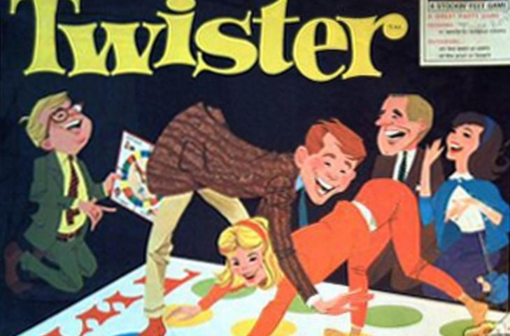 Twister - The game that ties you up in knots