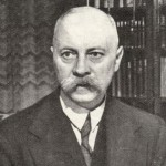 Pieter Sjoerds Gerbrandy (1885-1961), minister-president in Londen.