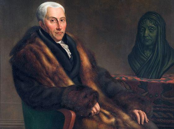 Gijsbert Karel graaf van Hogendorp – Jean Francois Valois of Cornelis Cels