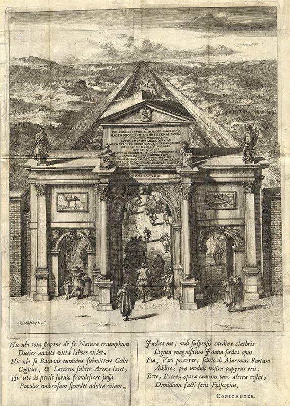 De nieuwe Zee-straet van 's Graven-hage op Scheveningh – Constantijn Huygens, 1666-1667