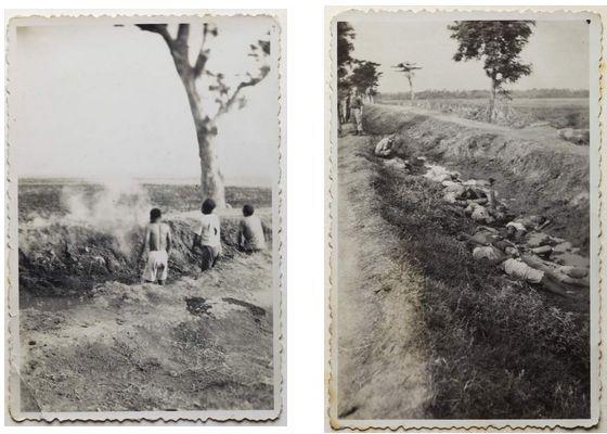 Foto's van de executie die vorig jaar opdoken – Foto's: Stadsarchief Enschede