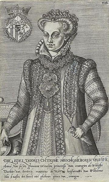 Anna van Saksen (1544-1577)