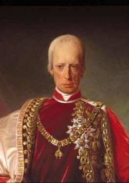 Portret van keizer Frans II door Friedrich von Amerling