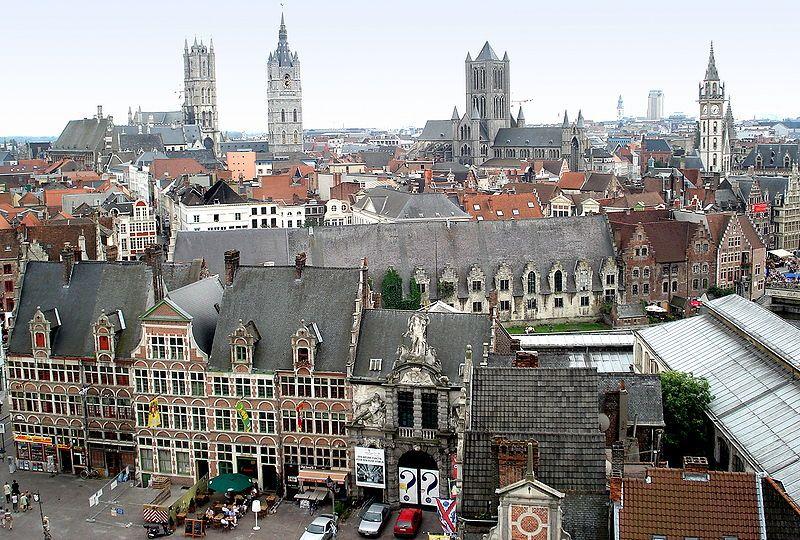 Binnenstad van Gent