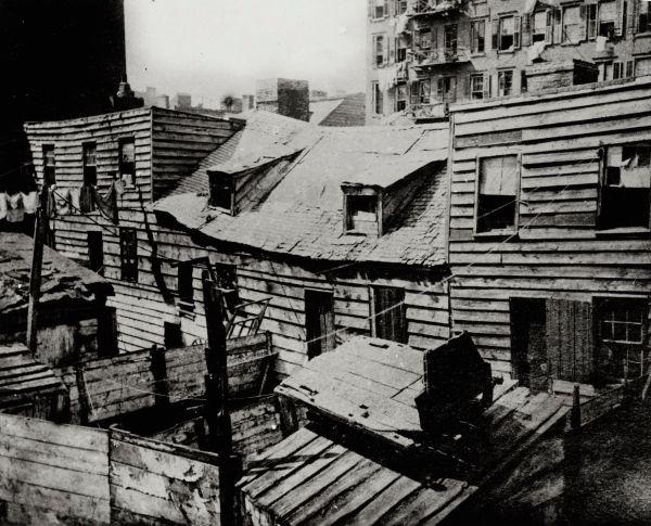 New York rond 1888 - Foto: Jacob Riis