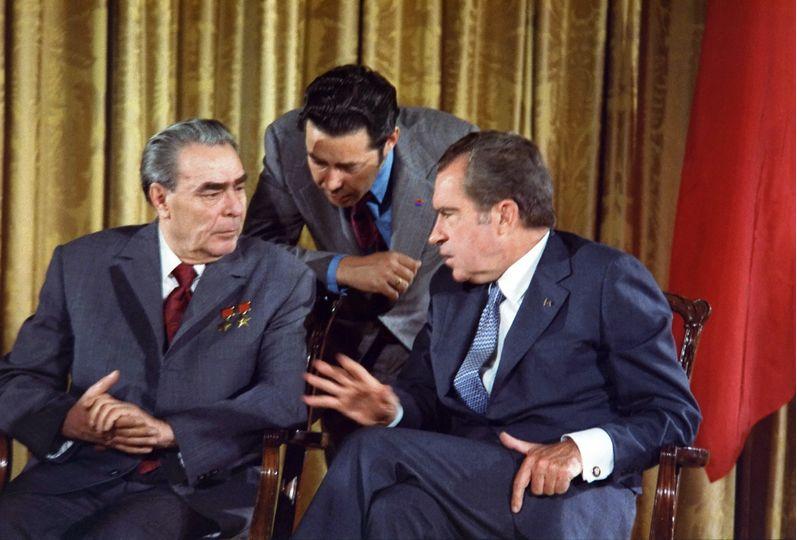 Nixon en Brezhnev, 1973