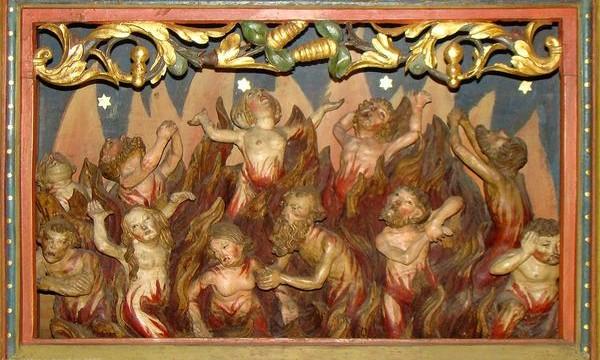 Gregorius I wordt beschouwd als de uitvinder van het vagevuur