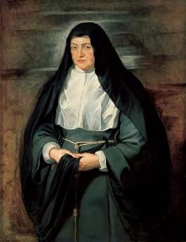 Aartshertogin Isabella als non - Peter Paul Rubens