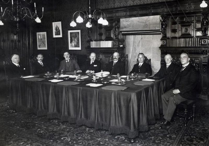 Ruijs de Beerenbrouck en zijn derde kabinet