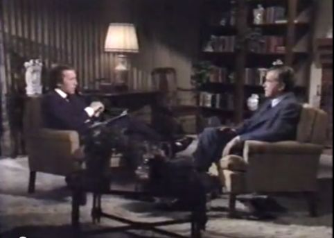 David Frost en Richard Nixon - Still YouTube