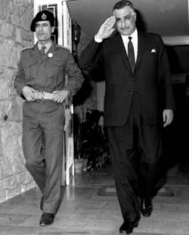 Khadaffi en Nasser, 1969