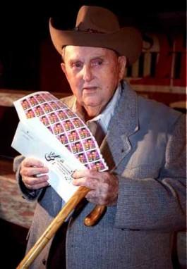 Kolonel Tom Parker, manager van Elvis Presley - Foto: Wiki