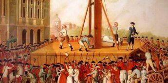 Geschiedenis onder de guillotine