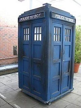Tijdmachine uit 'Dr. Who' - Foto: CC