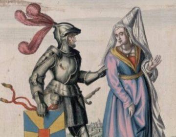 Boudewijn I afgebeeld in de Flandria illustrata uit 1641