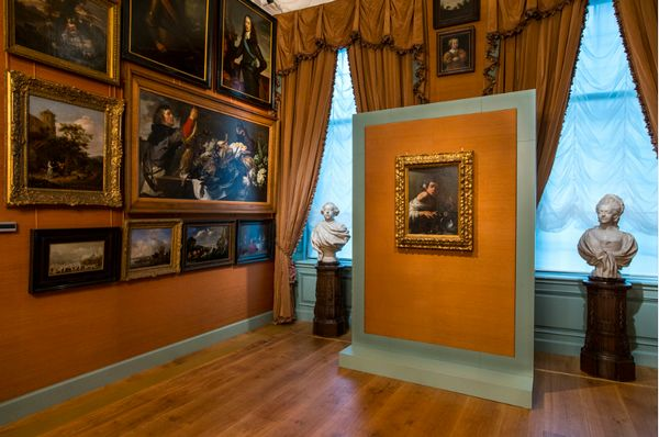 Het schilderij van Cravaggio in de Galerij Prins Willem V in Den Haag