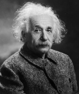 Albert Einstein in 1947 (Publiek Domein - wiki)