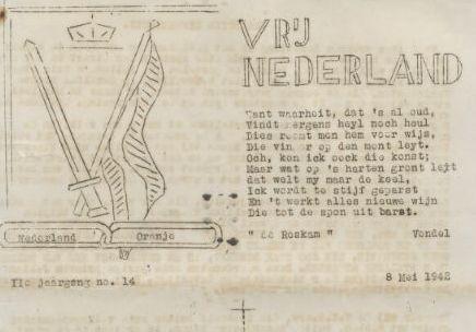 Vrij Nederland van mei 1942 (KB)