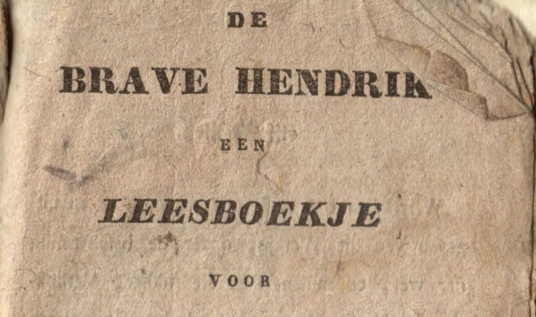 Detail van het boekje 'Brave Hendrik'