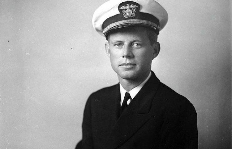 John F. Kennedy in 1942