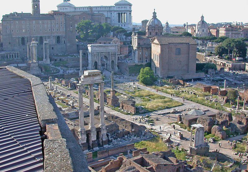 Forum Romanum - Foto: Wiki