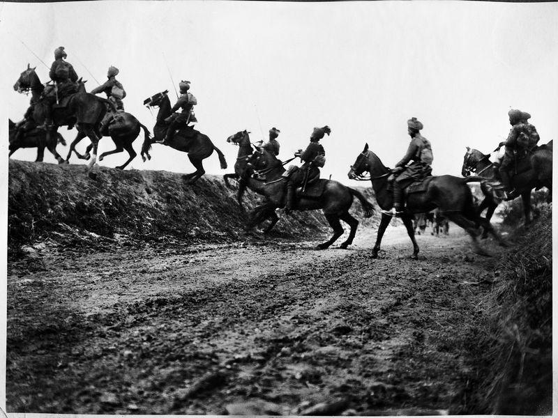 Cavalerie indienne, Brits, Frankrijk - Foto: Uitgeverij Kannibaal