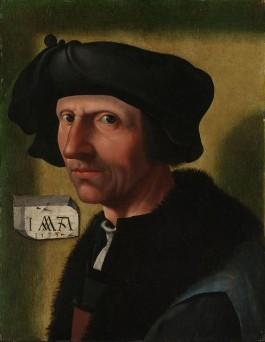 Atelier Jacob Cornelisz van Oostsanen, portret van Jacob Cornelisz van Oostsanen, 1533, collectie Rijksmuseum Amsterdam