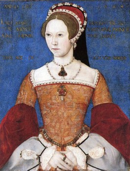 Mary Tudor, Maria I van Engeland - ca. 1544