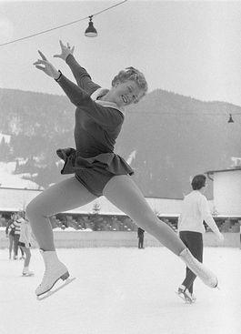 Sjoukje Dijkstra, 1960 - Foto: CC / Nationaal Archief / Anefo