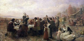 Thanksgiving Day, dankzeggingsdag sinds 1621