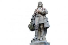 Standbeeld van koning-stadhouder Willem III in Brixham – Foto's: Yolande van der Deijl