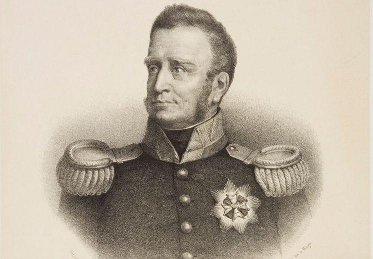 Koning Willem I. Vervaardigd door H.J.W. de Roode, 1820 (Haags Gemeentearchief)