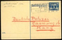 Onderschepte postkaart - Afb: NIOD