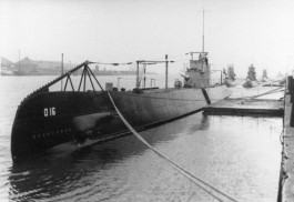 Hr. Ms. O 16 in 1938