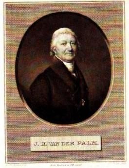 Johannes Hendricus van der Palm (1763-1840). Prent uit 1830.